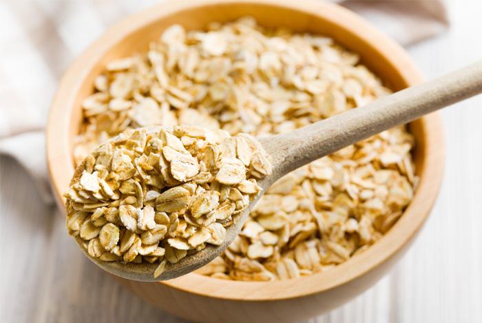 oatmeal bowl spoon