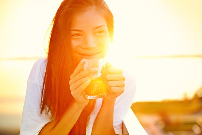 girl getting sun vitamin d