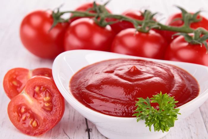 tomato ketchup bowl