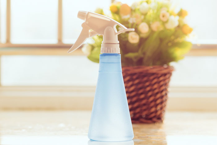 lemon wash spray bottle
