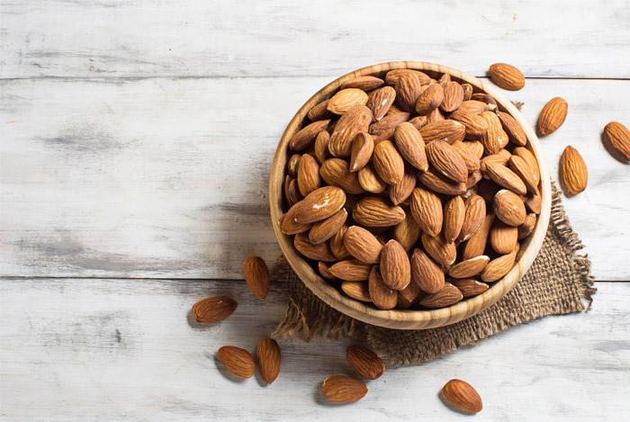 almonds bowl