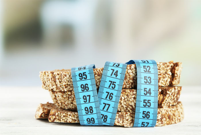 seeded bread tape measure