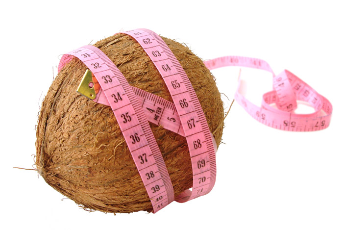 coconut tape measure