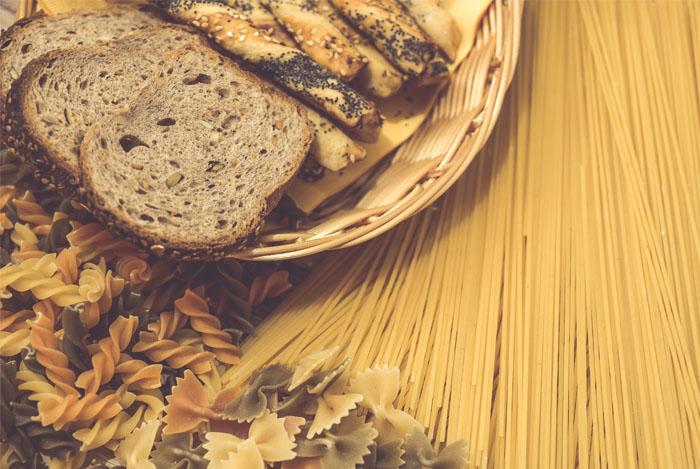 gluten food bread pasta