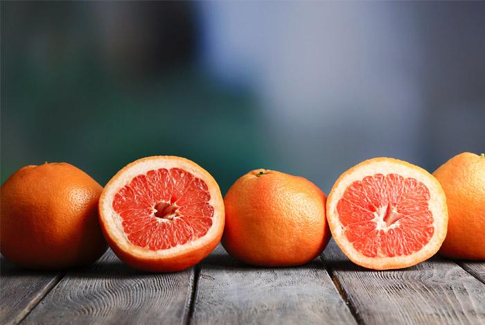 grapefruit half whole