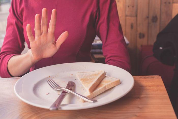 women no to gluten