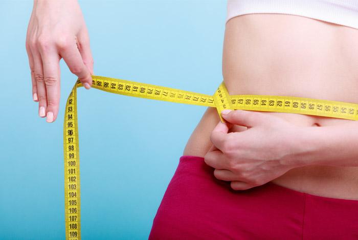 female belly fat tape measurement