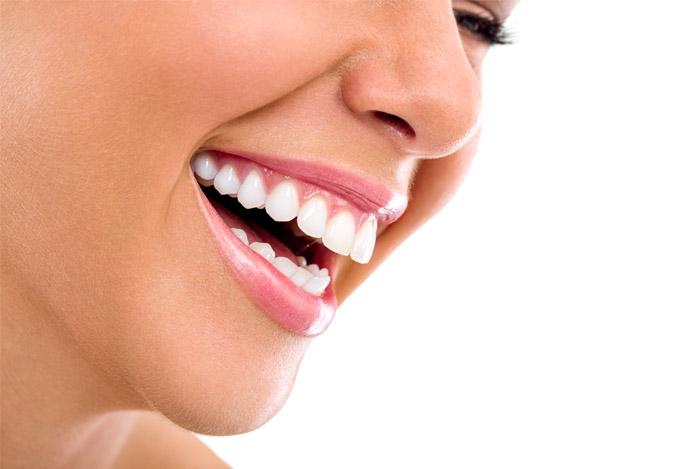 woman close up mouth