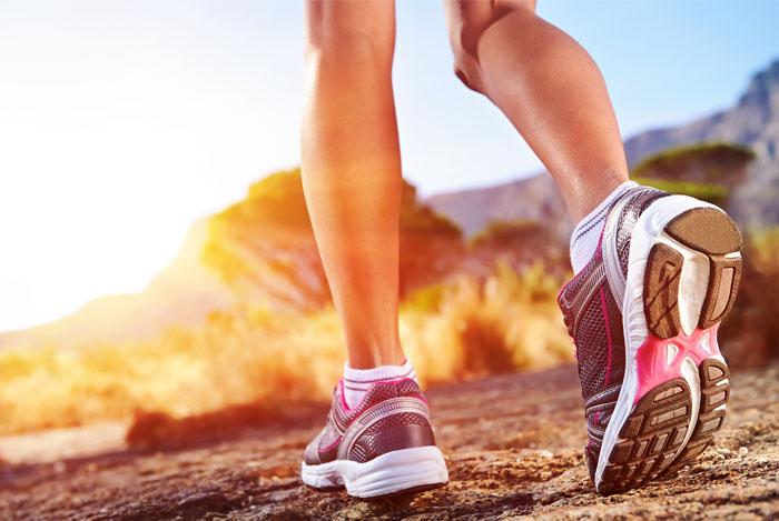 women legs running