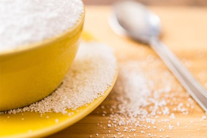 aspartame powder cup spoon