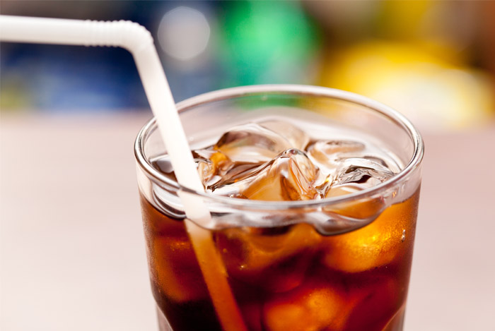 cola drink straw