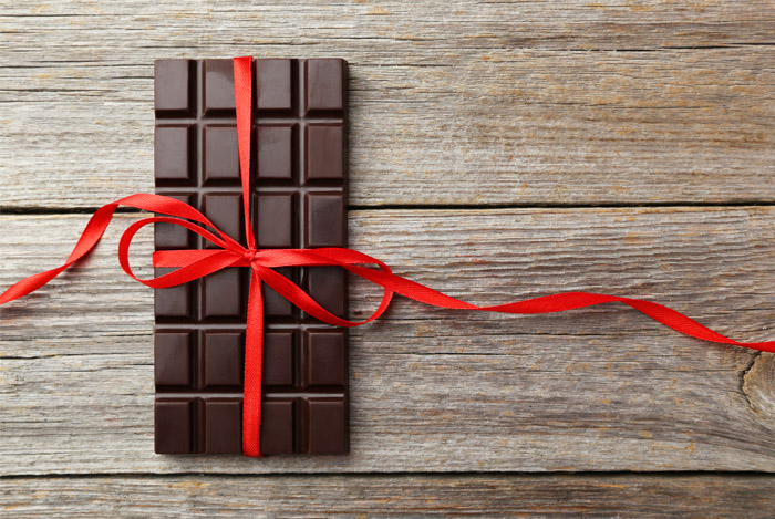 block dark chocolate