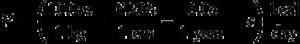 BMR formula
