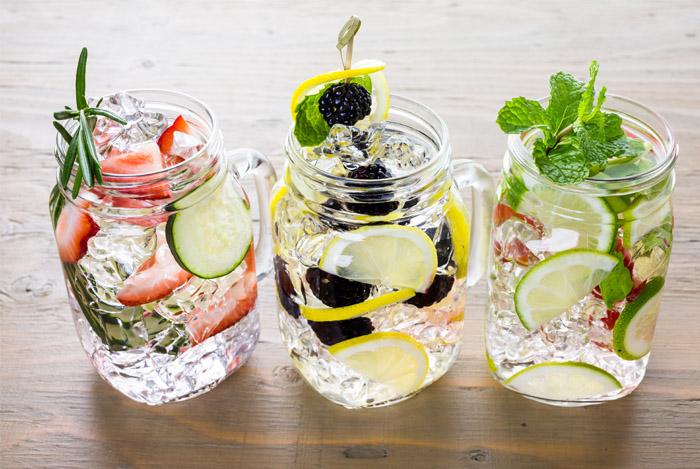 fresh fruit water cups
