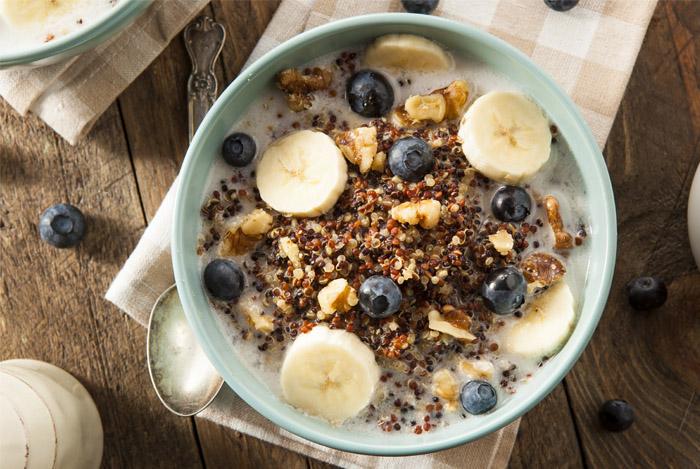 quinoa breakfast antioxidants