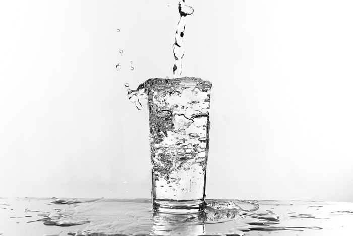 water glass weight loss