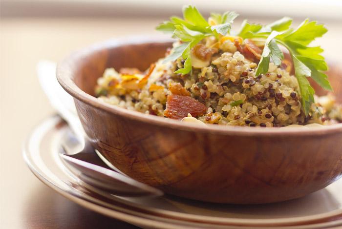 good carb quinoa salad