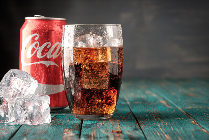 soft drink glass