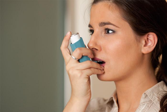 woman asthma