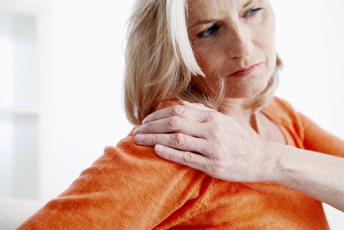 arthritis back woman
