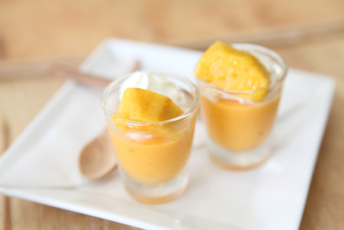 Creamy Mango Pudding