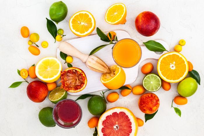 various citrus