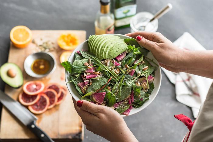 never pre cut veggies