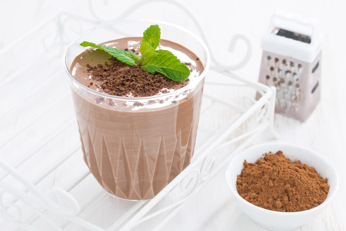 Hide-the-Spinach Chocolate Smoothie