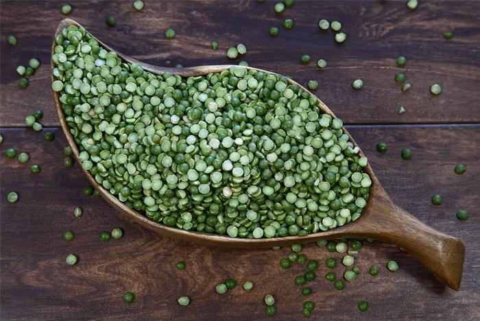 boil split peas