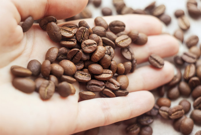 caffeine beans