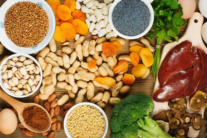eat iron foods