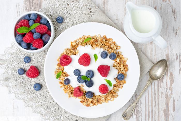 fiber rich breakfast