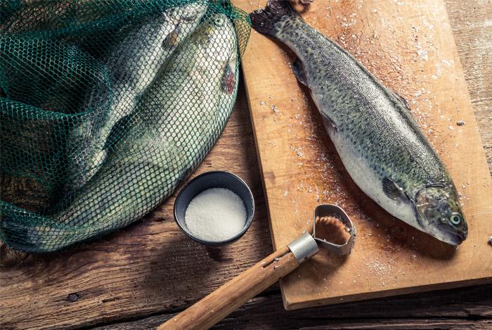 wild caught fish